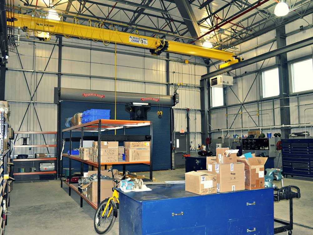 Prefabricated mechanical services in Alberta